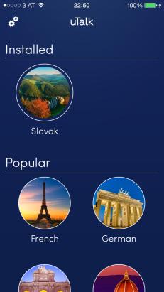 uTalk Screenshot