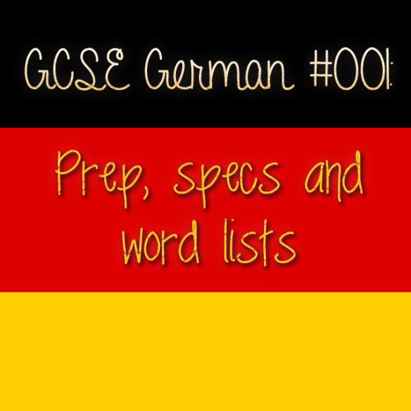 GCSE German 001