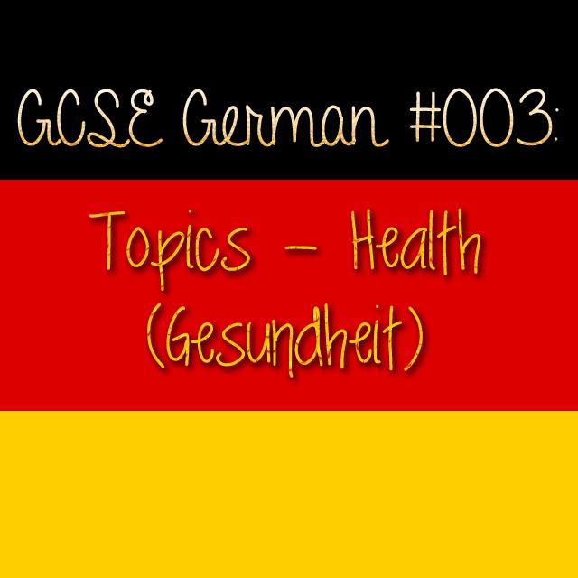GCSE German 003