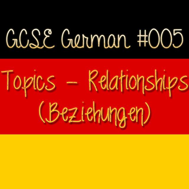 GCSE German 005