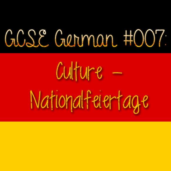 GCSE German 007