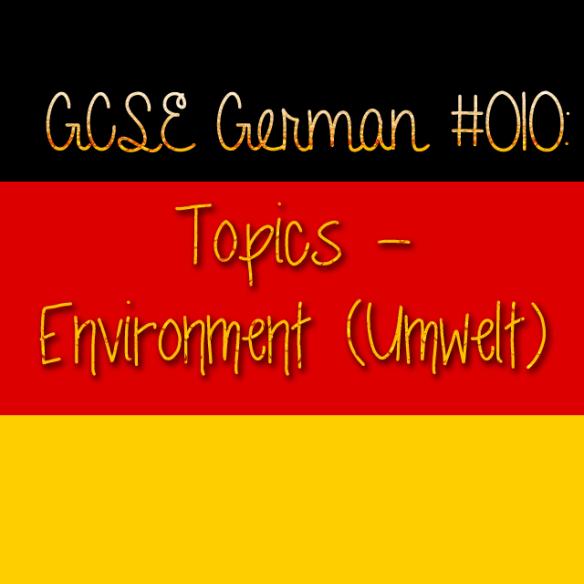 GCSE German 010