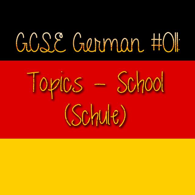 GCSE German 011