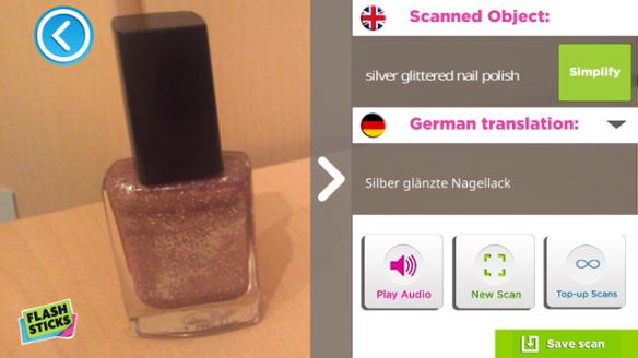 Object scan nail varnish 1