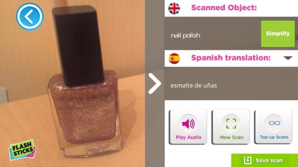 Object scan nail varnish 3