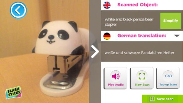 Object scan stapler 1
