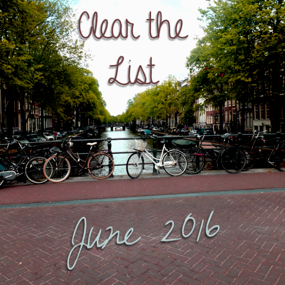 Clear the List: June 2016 | 学习Sprachen