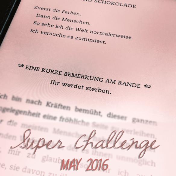 Super Challenge: May 2016 | 学习Sprachen