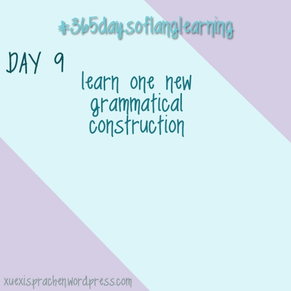#365daysoflanglearning - Day 9