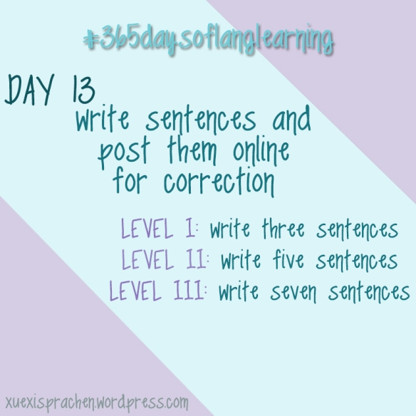 #365daysoflanglearning - Day 13
