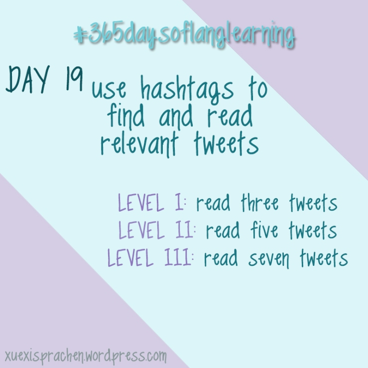 #365daysoflanglearning - Day 19