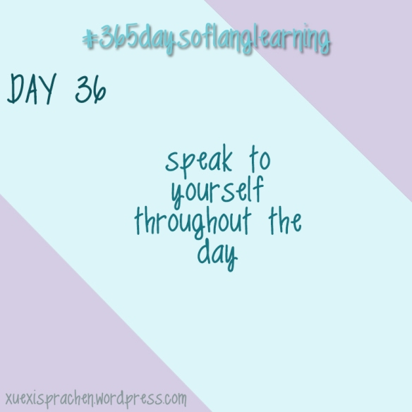 #365daysoflanglearning - Day 36