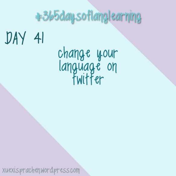 #365daysoflanglearning - Day 41