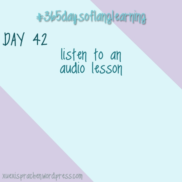 #365daysoflanglearning - Day 42
