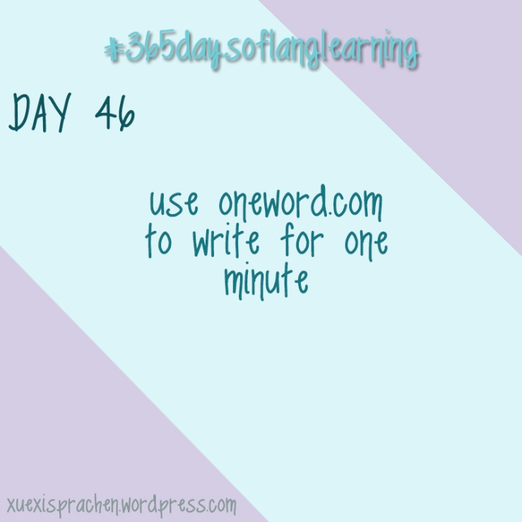 #365daysoflanglearning - Day 46