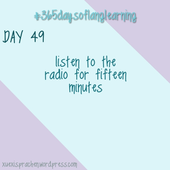 #365daysoflanglearning - Day 49