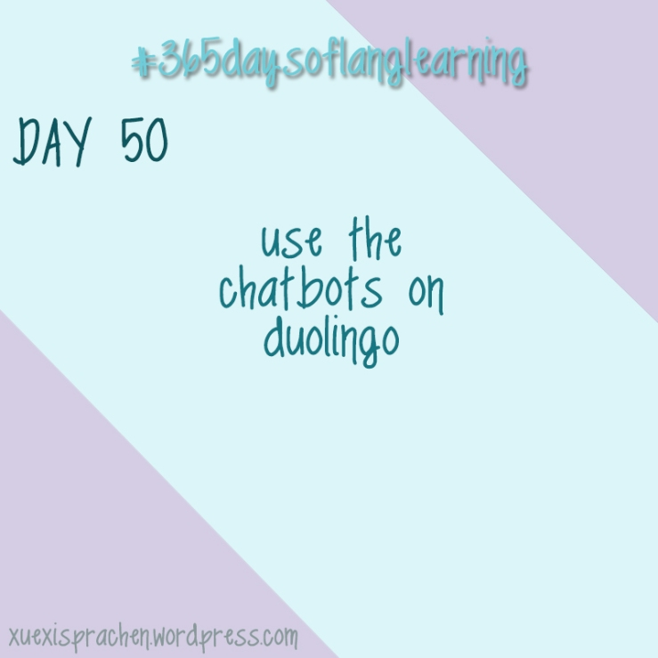 #365daysoflanglearning - Day 50