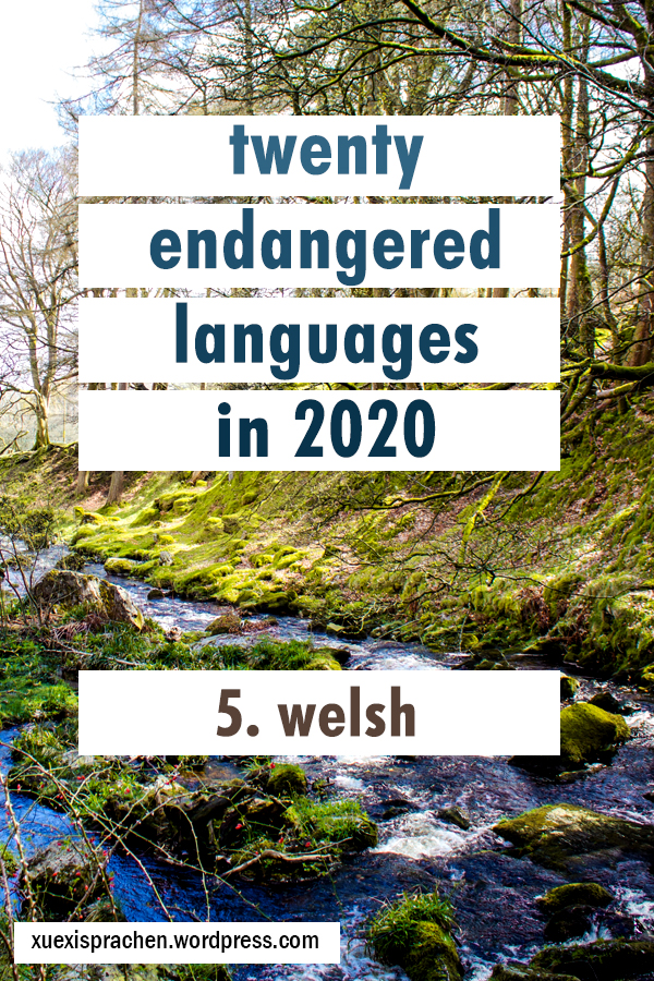 20 langs in 2020 5 welsh