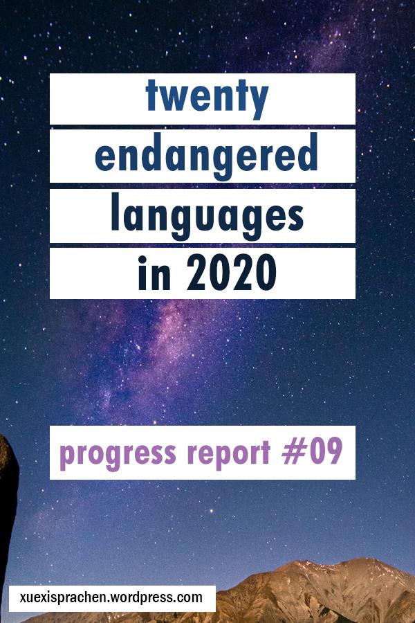 20 langs in 2020 progress 09 mi
